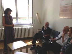 Inauguration de la plateforme d'expérimentation en psychologie, le 21/06/2013