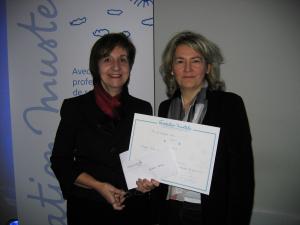 Les heureuses Lauréates à la Fondation Mustela